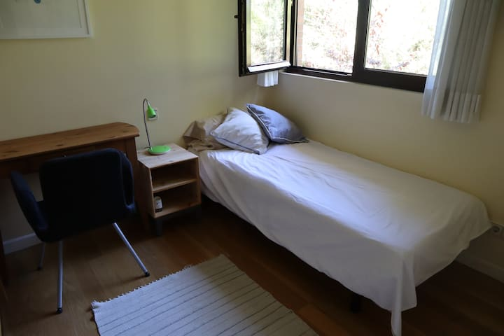 Small, comfortable room with everything you need.