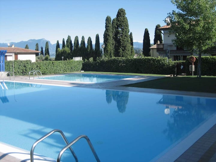 Apt for 2+1 persons with pool in Lazise R22010