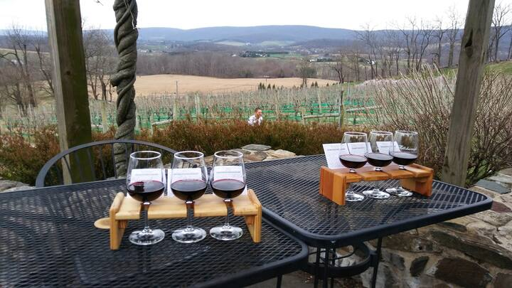 Early Season Tastings and Field Tours