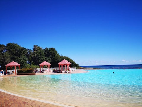 Creole Dream Studio : plage, piscine, cocoteraie