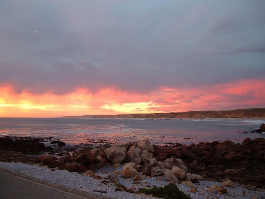 Pragtige sonsondergang/Beautiful sunset