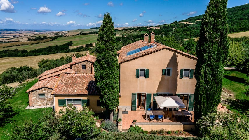 Country House Podere i Prati in Val d'Orcia