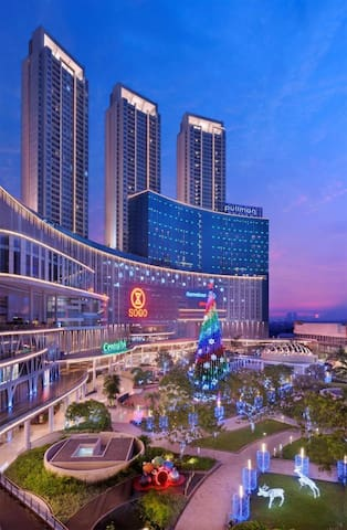 Near Central Park Mall (only 2 minutes walk), The largest Mall at Jakarta