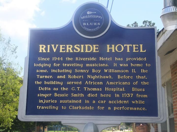 """The Riverside"" a Historic Delta Blues Hotel"