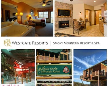 GATLINBURG**1 BR Deluxe Condo**WG Smoky Mtn Resort - Gatlinburg - Condominium