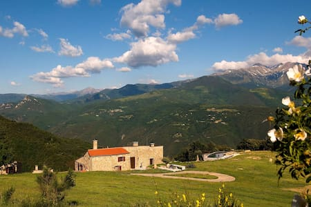 Restored Catalan Mas/ Eco-lodge sleeps 18 - 20 - Arles-sur-Tech
