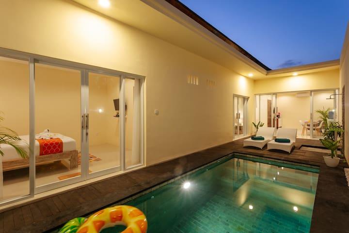 2019 NEW! Drupadi Seminyak 2 BR Private Pool Villa
