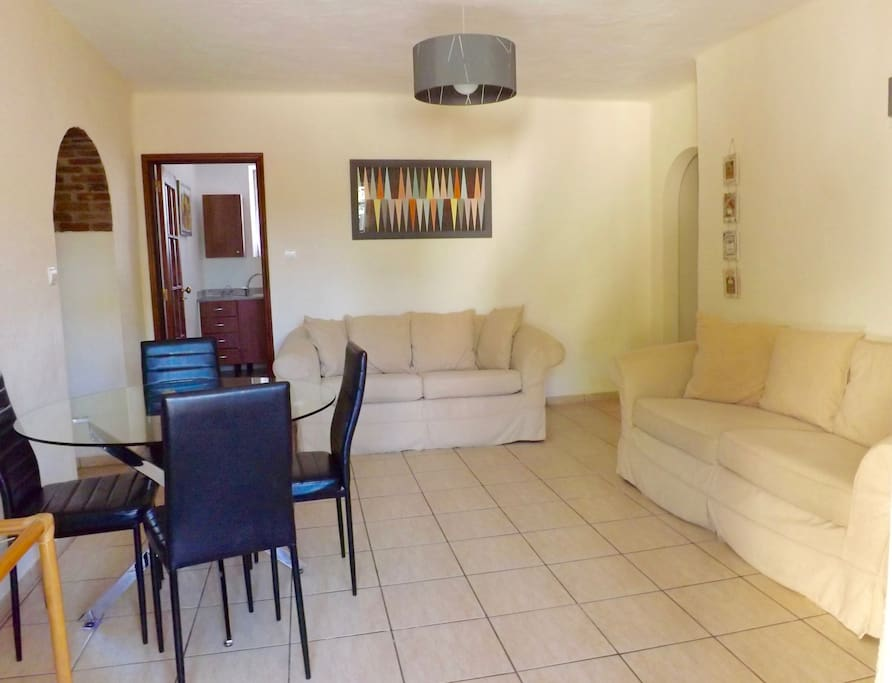 Bougainvillea 2 bedroom apartment- living/dining area