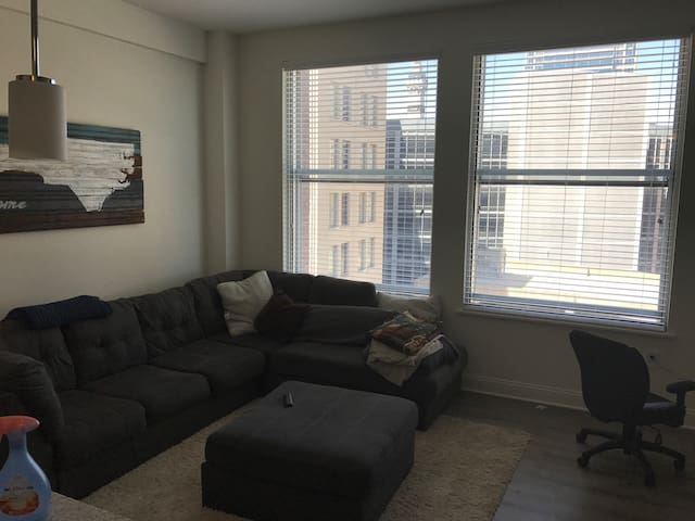 LUXURY HIGH RISE APARTMENT DOWNTOWN INDY 1BR 2BEDS