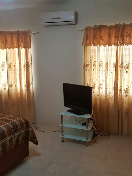 TV and Air condition Unit
