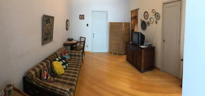 Apartamento familiar como a casa da vovó