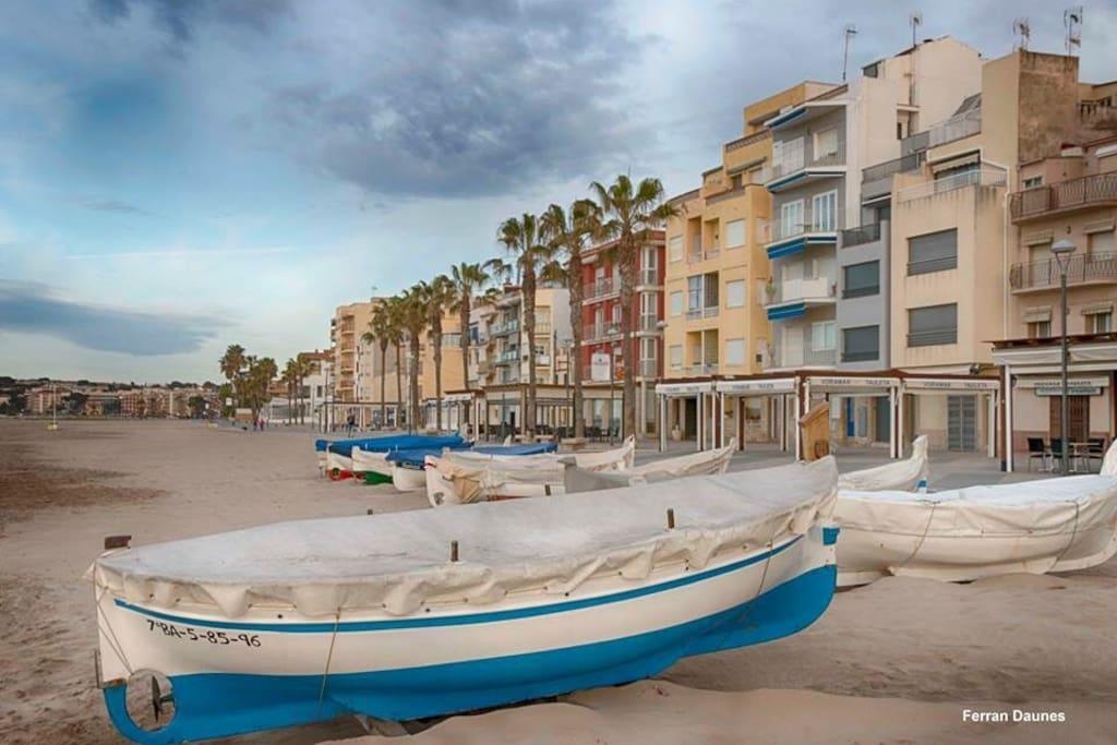 El Barrio marítimo ... encantador!!
