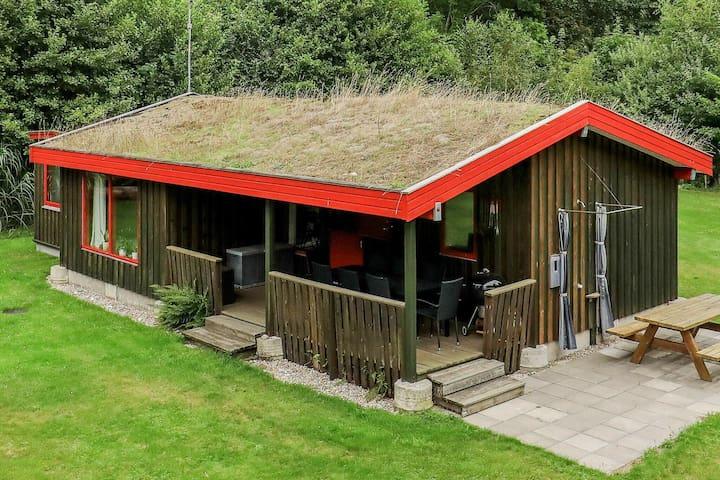 Casa de vacaciones moderna en Nordjylland con terraza