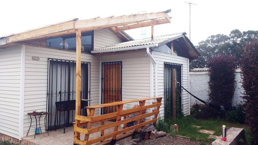 Casa en Isla Negra, linda, nueva y acogedora