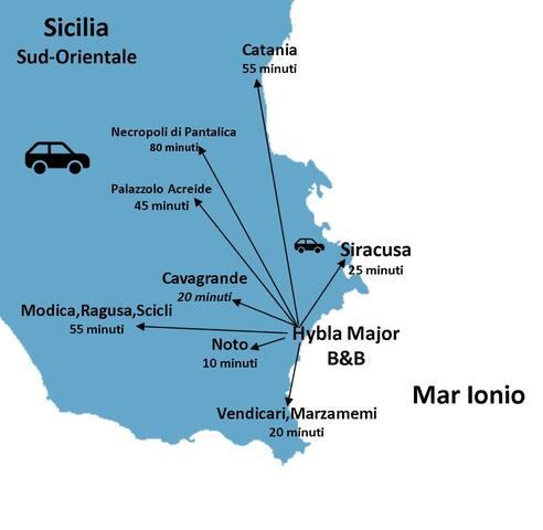 Hybla Major B&B - Sizilien wartet auf Dich