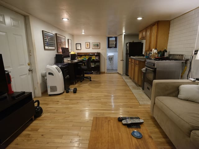 Basement apartment in bedstuy