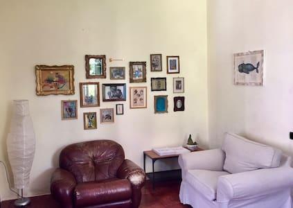 Casa con vista a Gubbio
