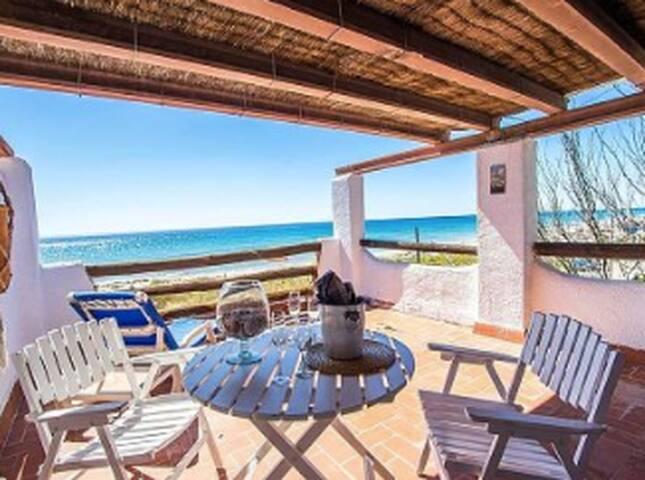 Espectacular casa a 1ª linea de mar - Creixell - Port Romà - Talo