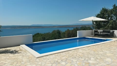 Pool and seaview - Southwest