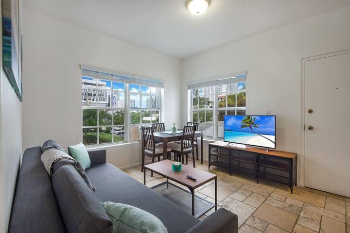 Beautiful Comfy Wynwood Oasis 1 Bedroom + Sofabed