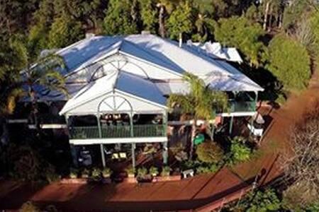 Family Suite King Tree Lodge terrace big bathroom