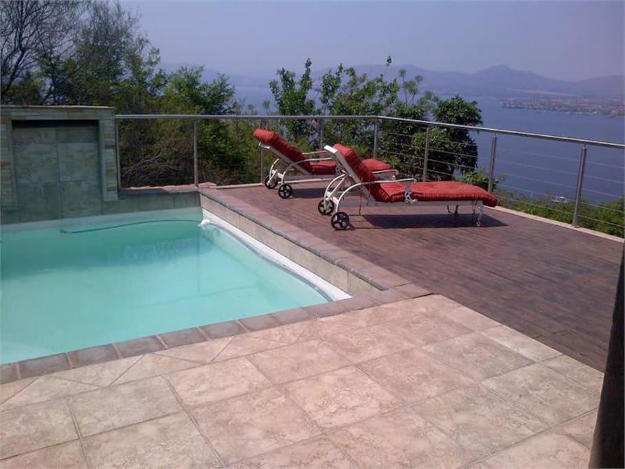 3rd floor pool & balcony