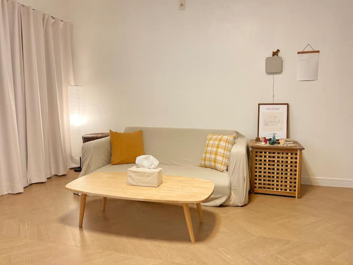 [Delight One] 10min from Subway/Parking available