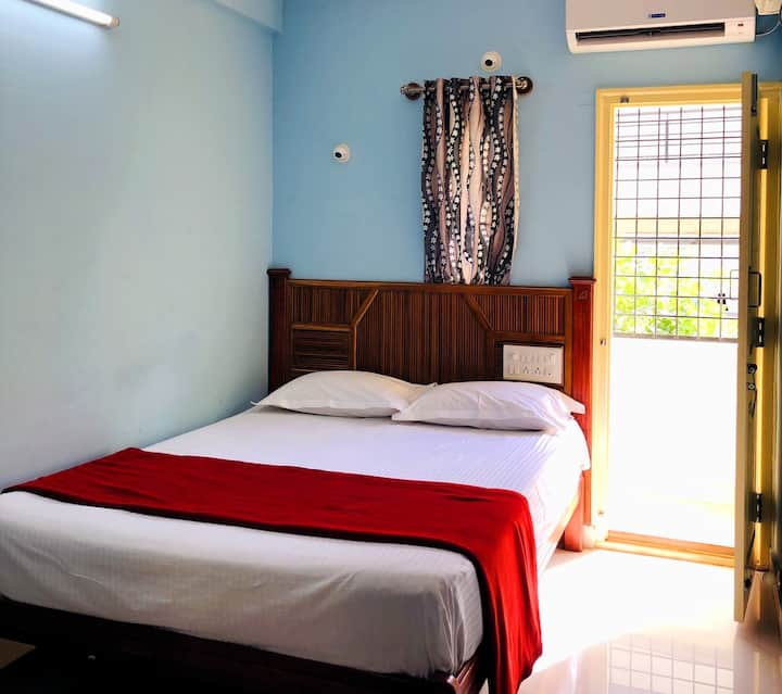 One Bedroom Flat-Wifi-Car parking-Bangalore