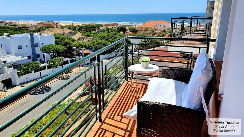 Vivienda Turística con vistas al mar Punta  Umbría