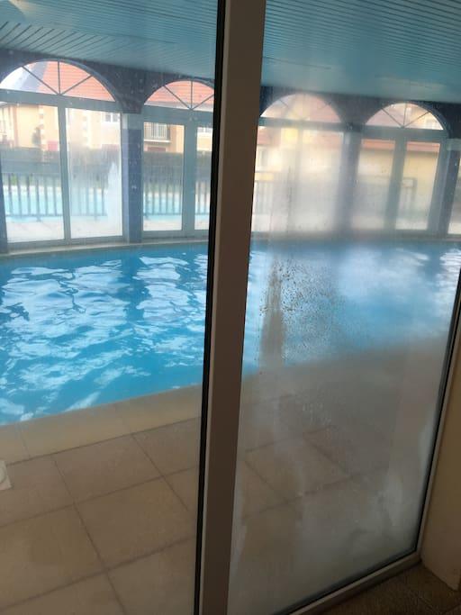 Studio dives sur mer 2 piscines condo te huur in dives for Camping dives sur mer avec piscine