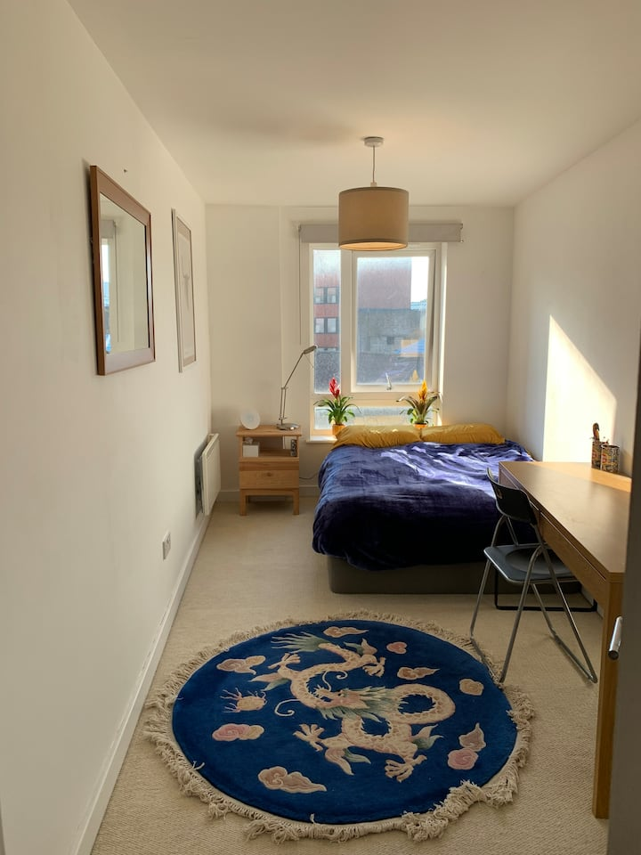 Cosy, well lit double room in North London