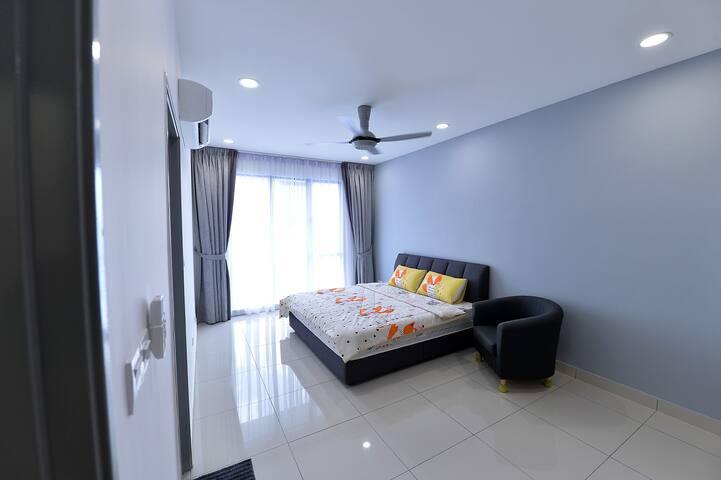 New J&G You City Master Bedroom @Cheras KL