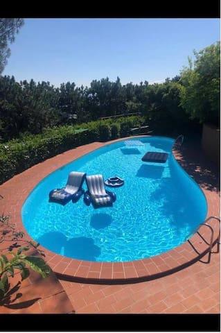 Villa Belvedere 🥰🍒 Turin Hill 🍒  15 min da Torino