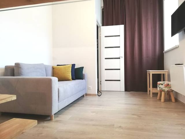 studio appartment with free parking in oldtown