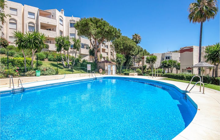 Stunning home in Mijas with 2 Bedrooms and WiFi