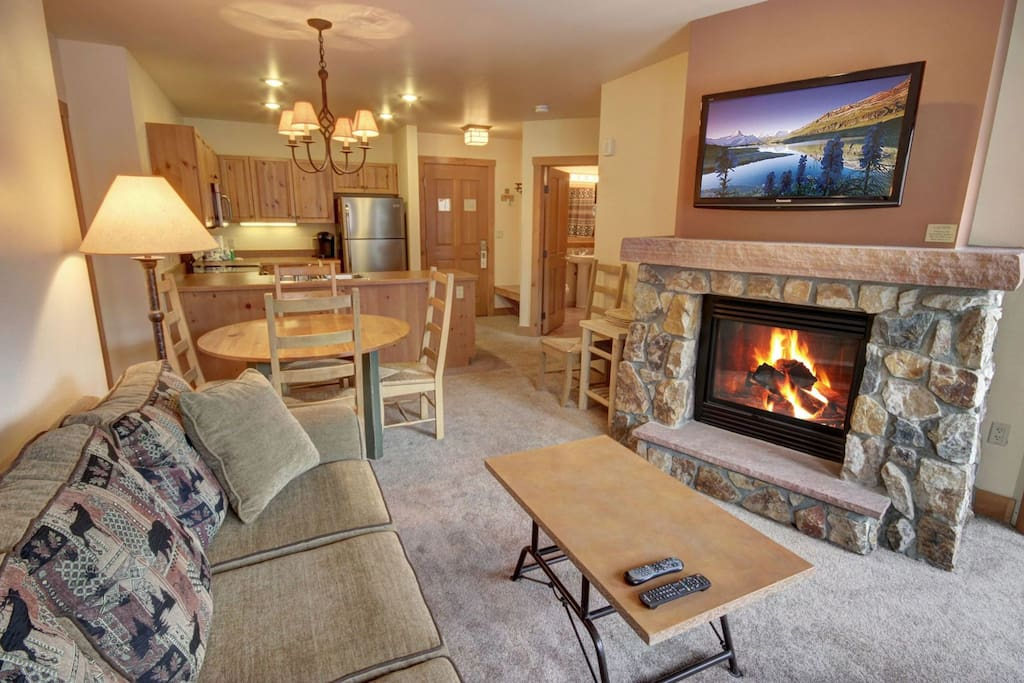 Perfect for a ski vacation getaway!