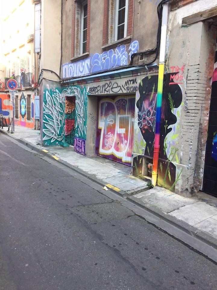 Studio Hyper Centre Toulouse