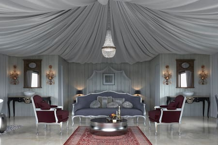 Royal Tent with Wi-Fi, hot tube and breakfast - Casares - Tält