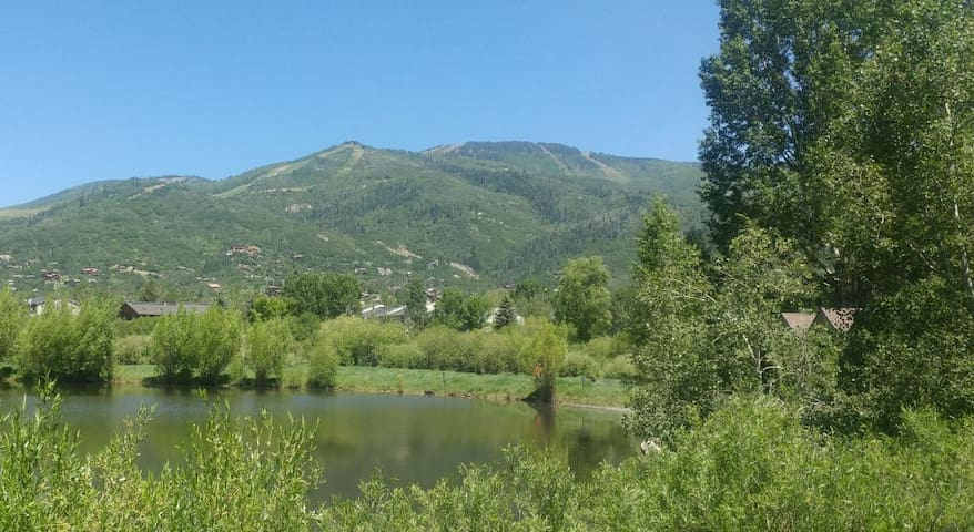 Mtn. Townhome Near Ski Area- On Pond - Great Views