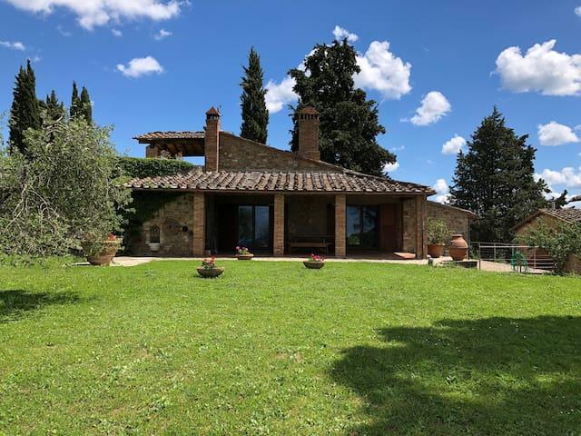 Holiday at the winery Poggio al Sole - Bella Vista