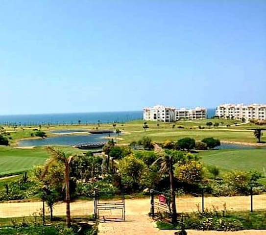 superbe appartement à asilah marina golf