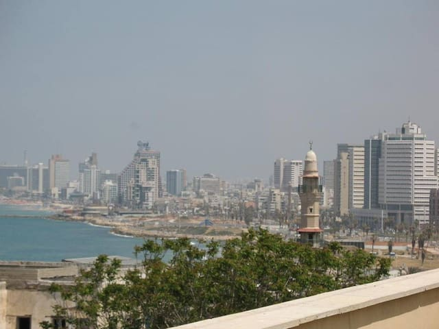 Old Jaffa Luxury Sea-View Rooftop Apartment