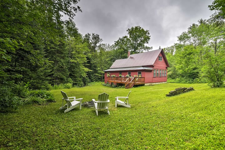 NEW! Charming 3BR Concord House on Wooded 1-acre!
