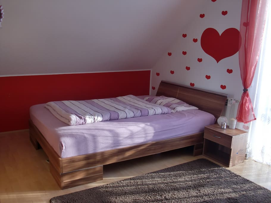 room 2 with a double bed