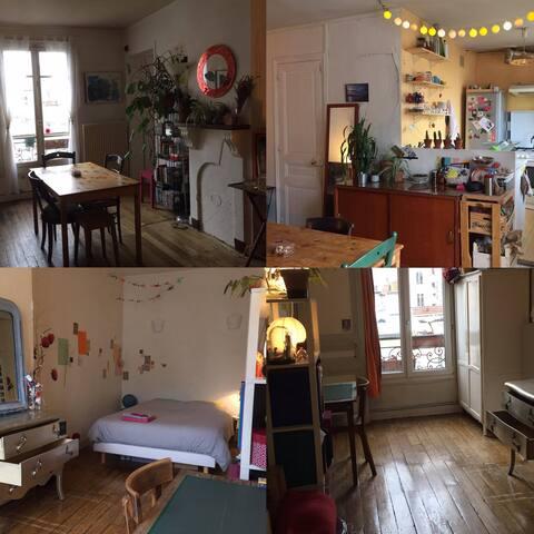 Appartement calme dans le 11e