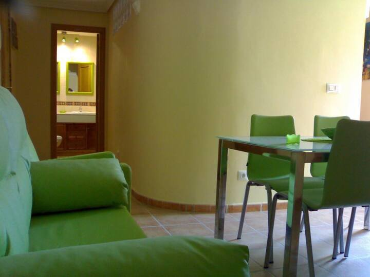 Triple apartment - double and single bed. 3