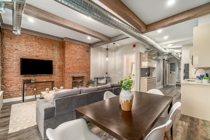 Historic Renovated Flat with Stunning Interior
