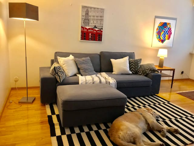 Peaceful two-room-flat in an upscale district