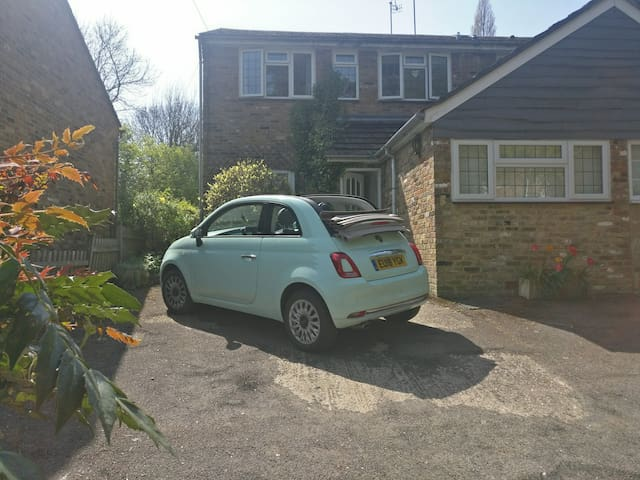 Guest parking on the drive