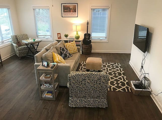 New, Modern Home in Downtown C'ville